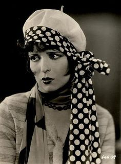 Everything I know, I learned from Clara Bow.