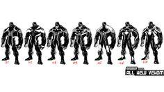 All-New Venom design by Valerio Schiti