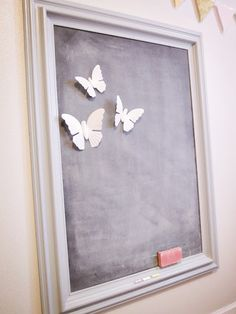 Make Your Own Magnetic Chalkboard