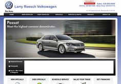 New Used Car Dealers added to CMac.ws. Larry Roesch Volkswagen in Bensenville, IL - http://used-car-dealers.cmac.ws/larry-roesch-volkswagen/47768/