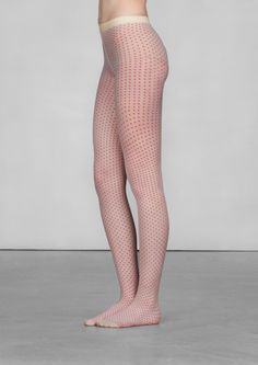 Square polka dot tights | Square polka dot tights | & Other Stories