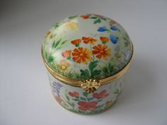 Tiffany Co Private Stock Porcelain Trinket Box Le Tallec Limoges France | eBay