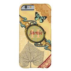 Personalize this fun pattern combination barely there iPhone 6 case