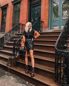 Breaking down all of my outfits from NYFW with sizing and additional info! Trendy Outfits, Winter Outfits, Summer Outfits, Nyfw Style, Long Sleeve Mini Dress, Daily Look, New York Fashion, Autumn Fashion, Fashion Photography