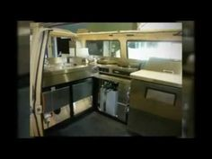 VW Van turned into a Crepe & Sandwich Food Truck - YouTube
