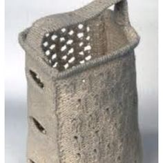 Crocheted Cheese grater