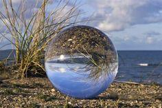 KUGELBILD ACRYL und GLAS von KUGELSPIRALE und ROSSIPHOTOGRAPHER