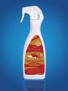 Fly Away Max Strength Fly And Insect Repellent 3 times stronger and 100 natural for the most effective fly and insect