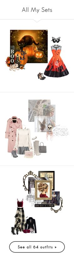 """All My Sets"" by summersdream ❤ liked on Polyvore featuring Improvements, Journee Collection, Masquerade, Miss Selfridge, Burberry, Prada, Roland Mouret, Gianvito Rossi, Jessica Robinson and Alexander McQueen"