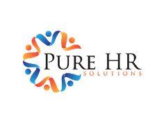keywords: human resources logo design figure people person community star burst