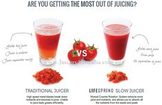 Traditional Juicers (Centrifrugal) vs Cold Press Juicers (Masticating) Cold Press preserves the maximum amount of nutrients and offers faster absorption of nutrients. Juicing Vs Smoothies, Centrifugal Juicer, Cold Press Juicer, Juice Extractor, Citrus Juicer, Small Appliances, Food And Drink, Health, Salud