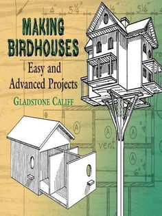 This practical guide for building birdhouses contains plans for more than fifty attractive and useful structures — from a one-room house for bluebirds to a forty-two-room structure for purple martins. In addition to instructions and diagrams for constructing houses for such avian varieties as robins, wrens and chickadees, the easy-to-follow text also provides suggestions for feeding devices, bird house materials, methods of finishing exteriors, and winter care for birds. An authoritative,