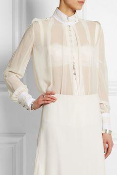 Nina Riccimandarin collar; stand only, no fall