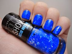 Dutchie Nails: Maybelline Bleached Blue