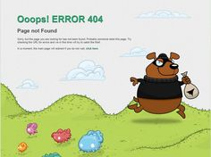 404 page inspiration