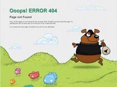 404 page inspiration  -------------  Wil je minder 404's? of gewoon een betere website? Neem dan eens vrijblijvend contact op met Budeco http://budeco.nl/contact
