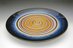 Swirl Platter by Bill Campbell Studios | Sticks Furniture, Home Decorative Accents