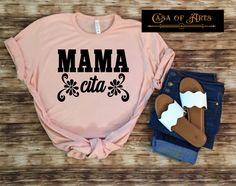 Sassy Shirts, Mom Shirts, Cool T Shirts, Mexican Shirts, Cute Shirt Designs, Summer Outfits, Cute Outfits, Vinyl Shirts, T Shirt Diy