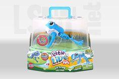 Maxi ritiro per rischio chimico giocattolo Lil rana e Lily Pad Playset con pile a bottone. L'allarme di Moose Pets company