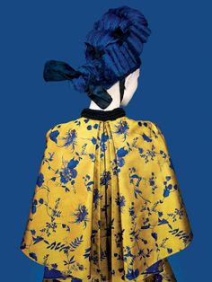 Erik Madigan Heck, Erdem C-print mounted on sintra, 50 × 40 in Fashion Moda, Fashion Art, Fashion Design, Kitenge, Illustration, Erdem, Costume, Cheongsam, Geisha