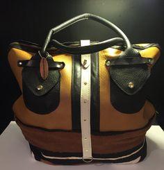 Mud Cloth Travel Bag