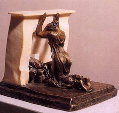 """Reflexão Profunda"" (1898) by Camille Claudel por Ana Célia Ellero  camille 04.jpg"