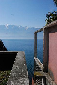 Corseaux, Lac Léman, Suisse Villa Le Lac 1923 Le Corbusier