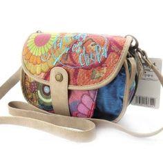 """Shoulder bag """"Desigual"""" multicoloured beige.,$105.00"""