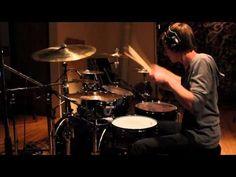 Kid jams on with Skrillex's cinema on his drums. Legit.