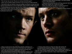 Supernatural Dean Quotes | Supernatural Sam and Dean's several quotes