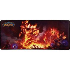 Ragnaros World of Warcraft Gaming Desk Mat Gaming Desk Mat, Tomb Raider Cosplay, Princess Mononoke, Comic Games, Gurren Lagann, Borderlands, Mass Effect, Mortal Kombat, World Of Warcraft