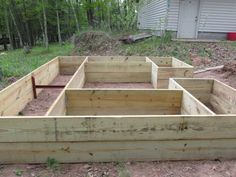 Our first raised garden project.  The plans were found on the internet http://www.doityourself.com/forum/gardening-horticulture/386252-my-new-critter-proof-raised-garden-beds.html#b with some...