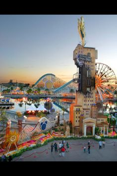 Disney Land, California. I've been to Disney World but I would like to try Disney Land too