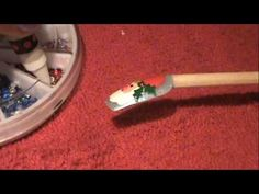 Christmas Nail Design-Cute Santa Clause