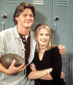 Sabrina and Harvey -- from SABRINA THE TEENAGE WITCH :)
