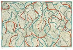Brice Marden, Study For Muses Eagles Mere Version, 1991-94