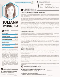 210 best Sample Resumes images on Pinterest | Resume examples, Free ...