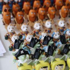 Viele bunte Tonies für die #Spielwarenmesse.