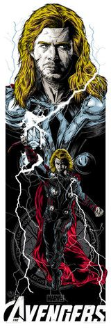 Repin if you like this Thor print and click to see how you could win it from @AMCTheatres!