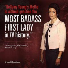Mellie Grant - #Scandal