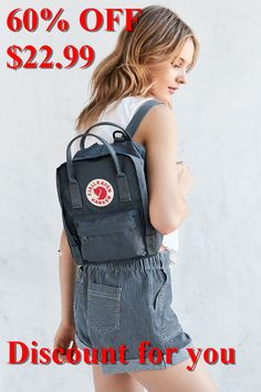 Shop Fjallraven Kanken Mini Backpack at Urban Outfitters today. We carry all the latest styles, colors and brands for you to choose from right here. Mochila Kanken, Fjallraven Kanken Mini, Kanken Backpack Mini, Small Backpack, Mini Backpack Purse, Looks Style, My Style, Backpack Outfit, Style Vintage
