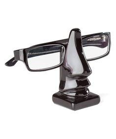 Another great find on #zulily! Black Leon Nose Eyeglasses Holder #zulilyfinds