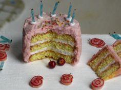miniThaiss on Etsy: Birthday cake