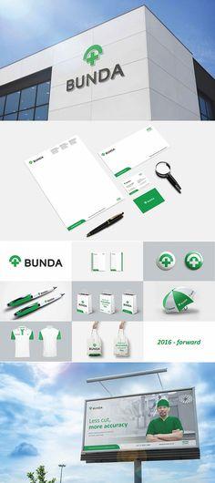 Bunda Hospital Rebranding Project by Dreambox Branding Consultant #medicalbrand #branding #brandinginspiration