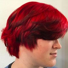 No filter needed! Beautiful red done by Lynsey! #nofilter #aveda #avedacolor #smallbusiness #letsgrowtogether #vanitysalonatx