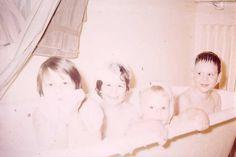 Baker Kids 1954-65 All four kids Leslie, Alison, Bob, Stuart