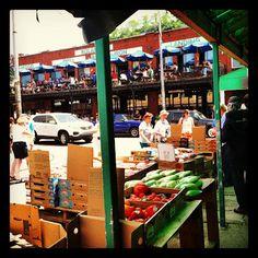 Saturday markets in the Strip District