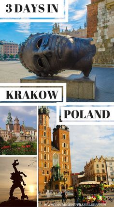 Spend 3 days exploring all the things to do in Krakow Poland with this extensive guide to the city. Includes places to stay and eat, day trips and insider tips. Discover Krakow in 4 days - Things to do in Krakow Poland by the Divergent Travelers Adventure Travel Blog. Click to read more. #Poland #Krakow #Travel #Guide