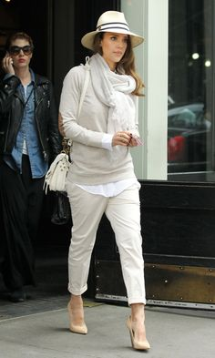 Jessica Alba Out In New York, 2012