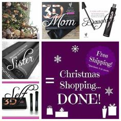 Younique Christmas shopping